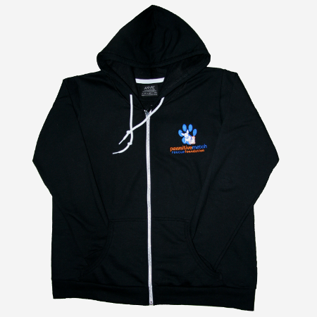 Pawsitive Match Zip-Up Hoodie